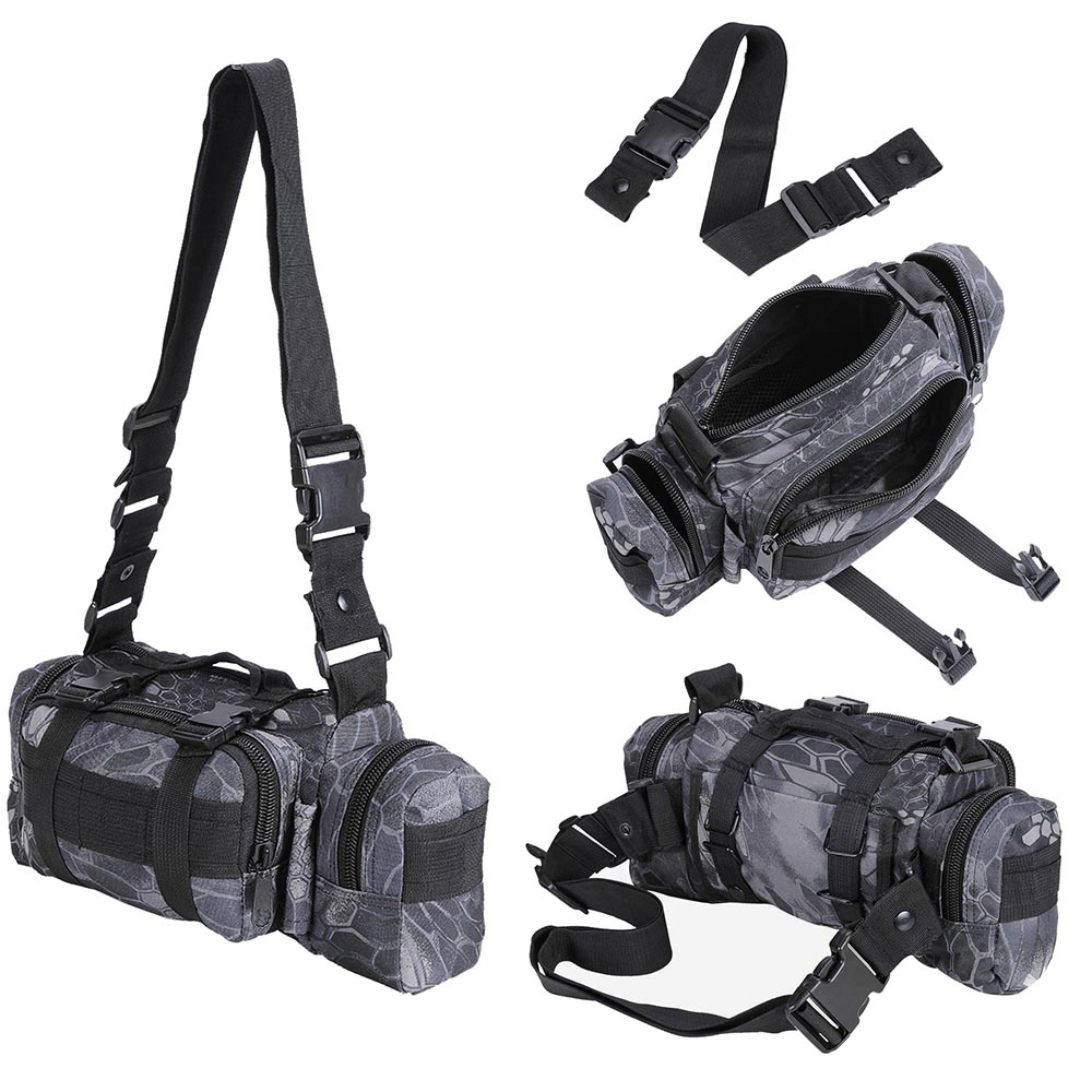 55L-Outdoor-Military-Molle-Tactical-Backpack-Rucksack-Camping-Bag-Travel-Hiking thumbnail 15
