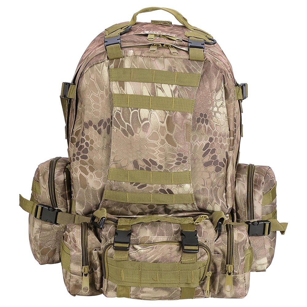 55L-Outdoor-Military-Molle-Tactical-Backpack-Rucksack-Camping-Bag-Travel-Hiking thumbnail 35