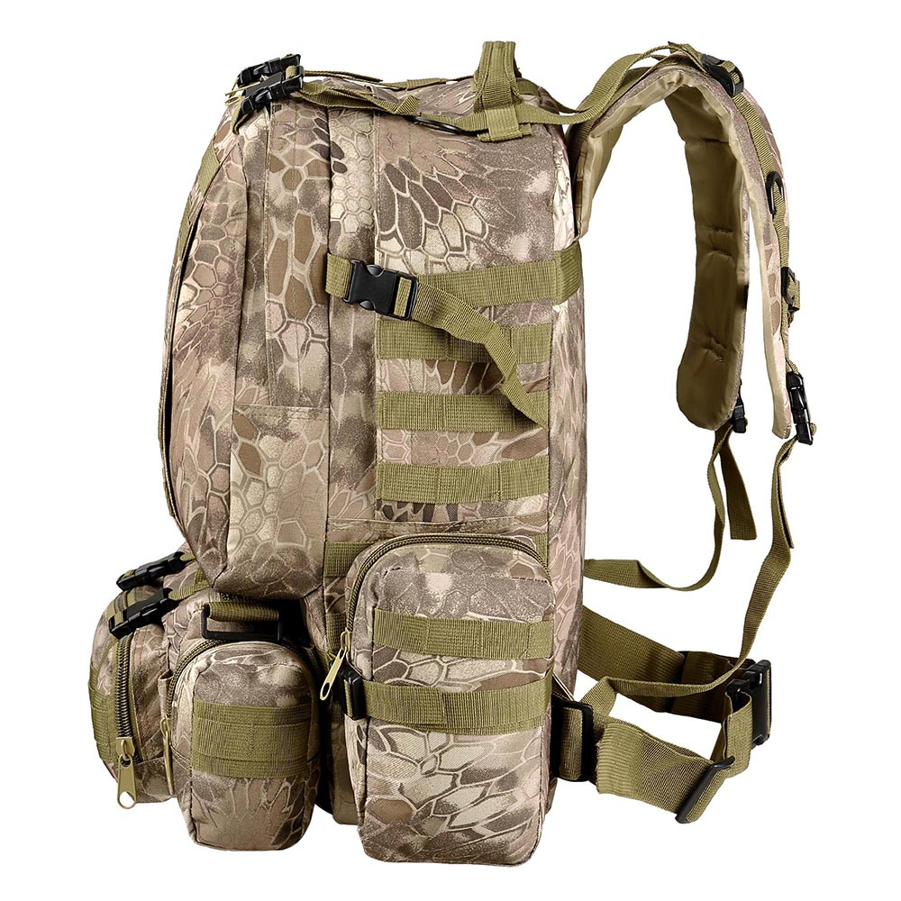 55L-Outdoor-Military-Molle-Tactical-Backpack-Rucksack-Camping-Bag-Travel-Hiking thumbnail 36