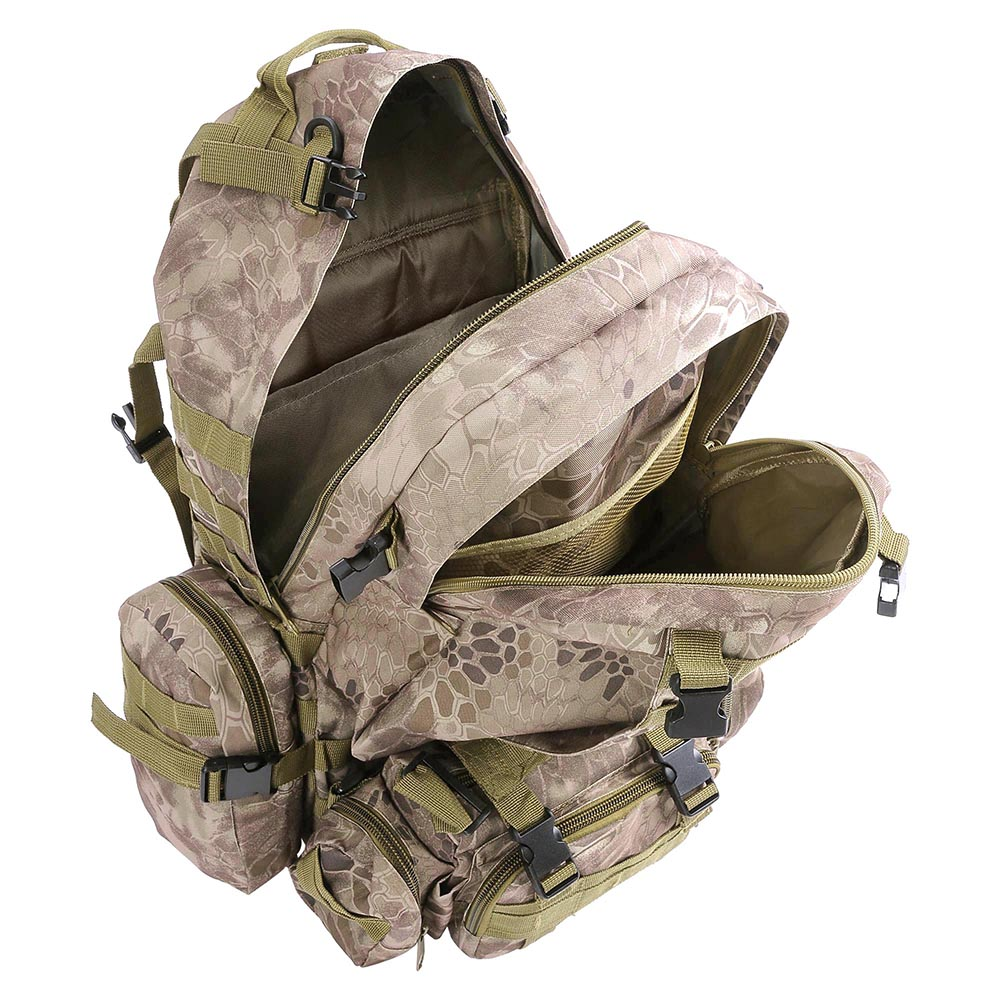55L-Outdoor-Military-Molle-Tactical-Backpack-Rucksack-Camping-Bag-Travel-Hiking thumbnail 38