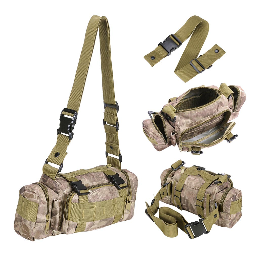 55L-Outdoor-Military-Molle-Tactical-Backpack-Rucksack-Camping-Bag-Travel-Hiking thumbnail 39