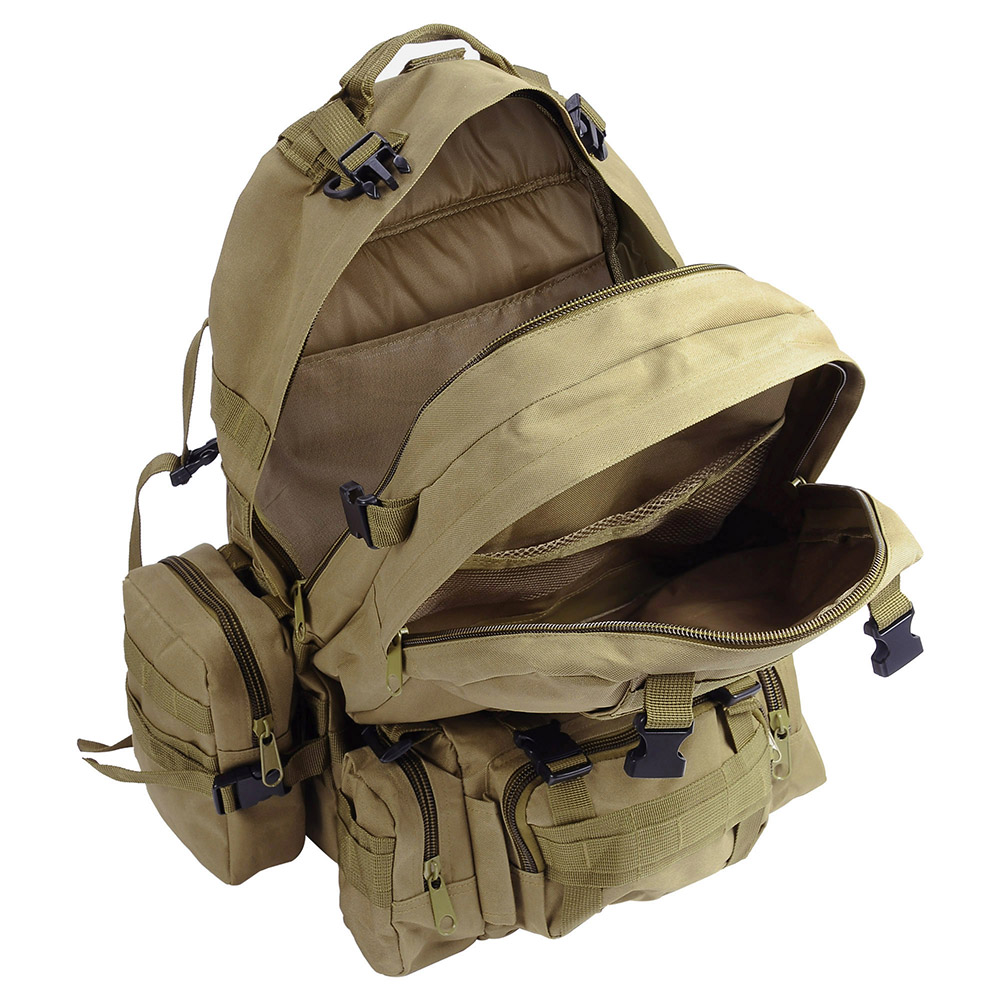 55L-Outdoor-Military-Molle-Tactical-Backpack-Rucksack-Camping-Bag-Travel-Hiking thumbnail 30