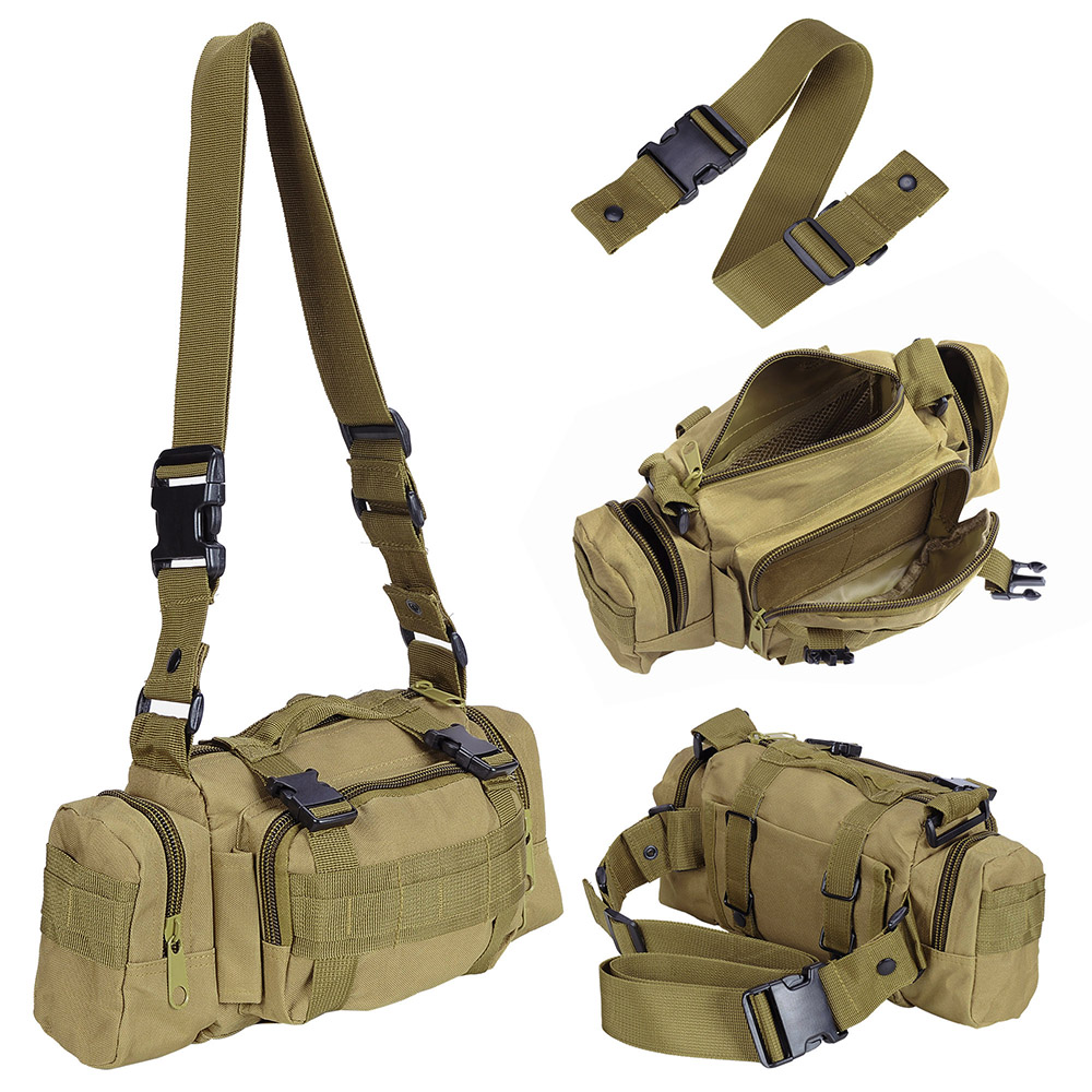 55L-Outdoor-Military-Molle-Tactical-Backpack-Rucksack-Camping-Bag-Travel-Hiking thumbnail 31