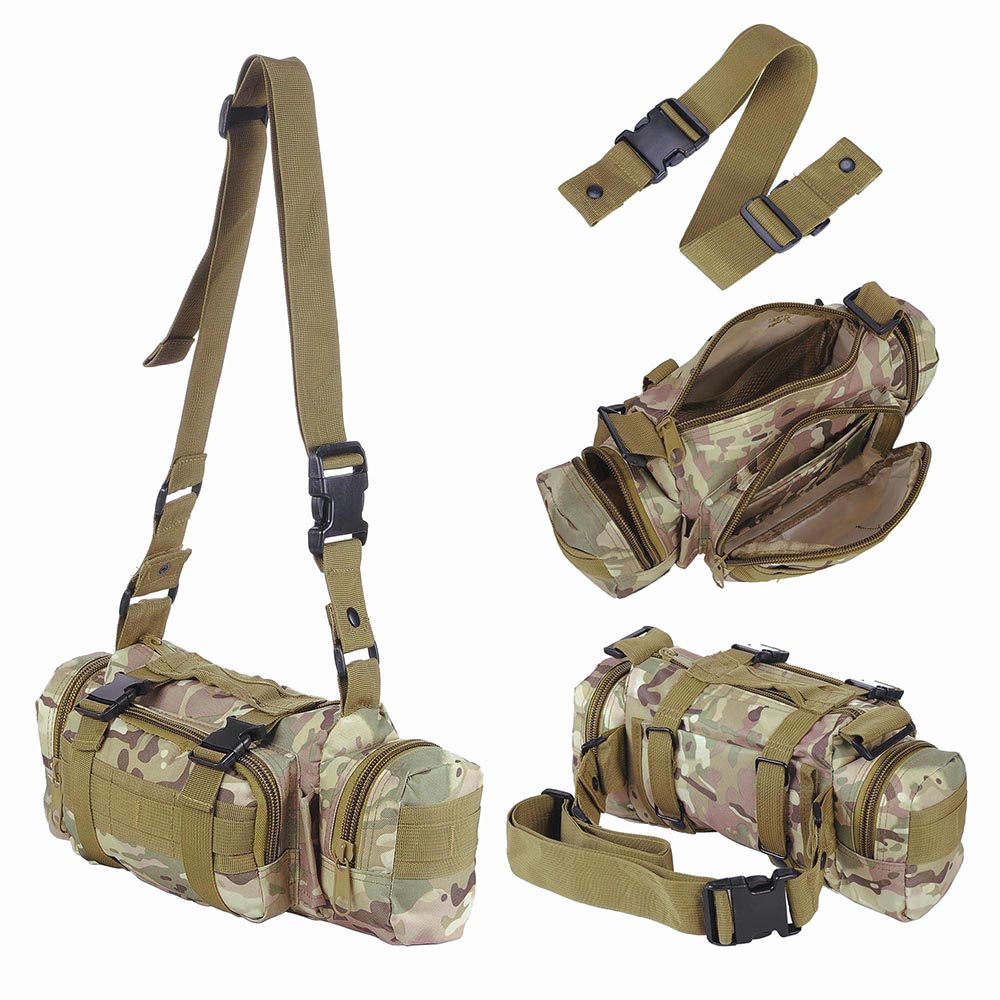 55L-Outdoor-Military-Molle-Tactical-Backpack-Rucksack-Camping-Bag-Travel-Hiking thumbnail 23