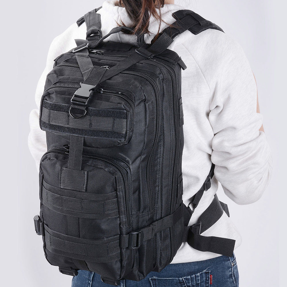 30L-Outdoor-Military-Rucksacks-Tactical-Backpack-Camping-Hiking-Trekking-Packbag thumbnail 23