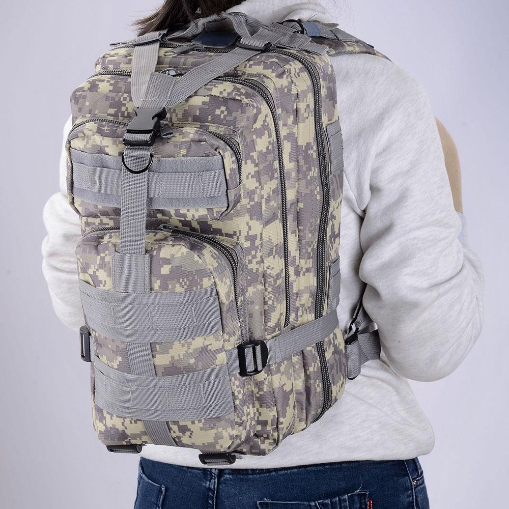 30L-Outdoor-Military-Rucksacks-Tactical-Backpack-Camping-Hiking-Trekking-Packbag thumbnail 9