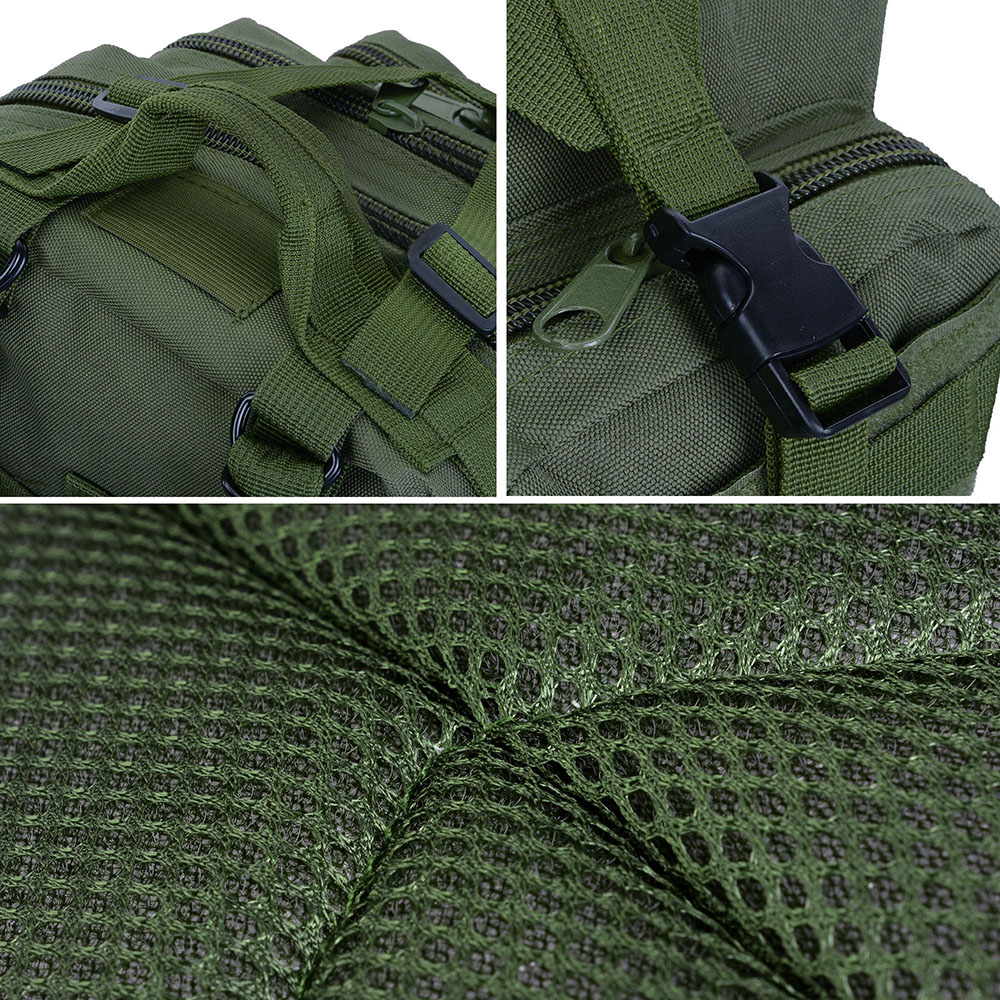 30L-Outdoor-Military-Rucksacks-Tactical-Backpack-Camping-Hiking-Trekking-Packbag thumbnail 15
