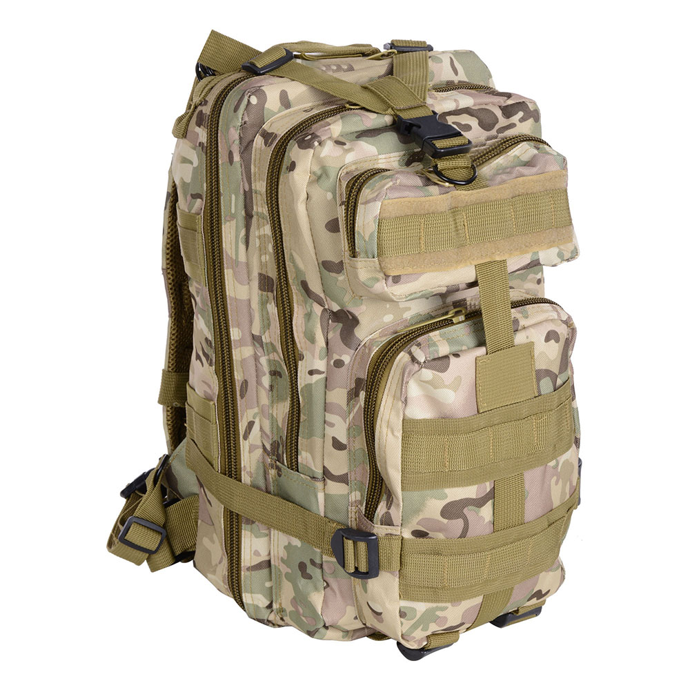 Camping Hiking Backpacking: 30L Military Molle Camping Backpack Tactical Camping