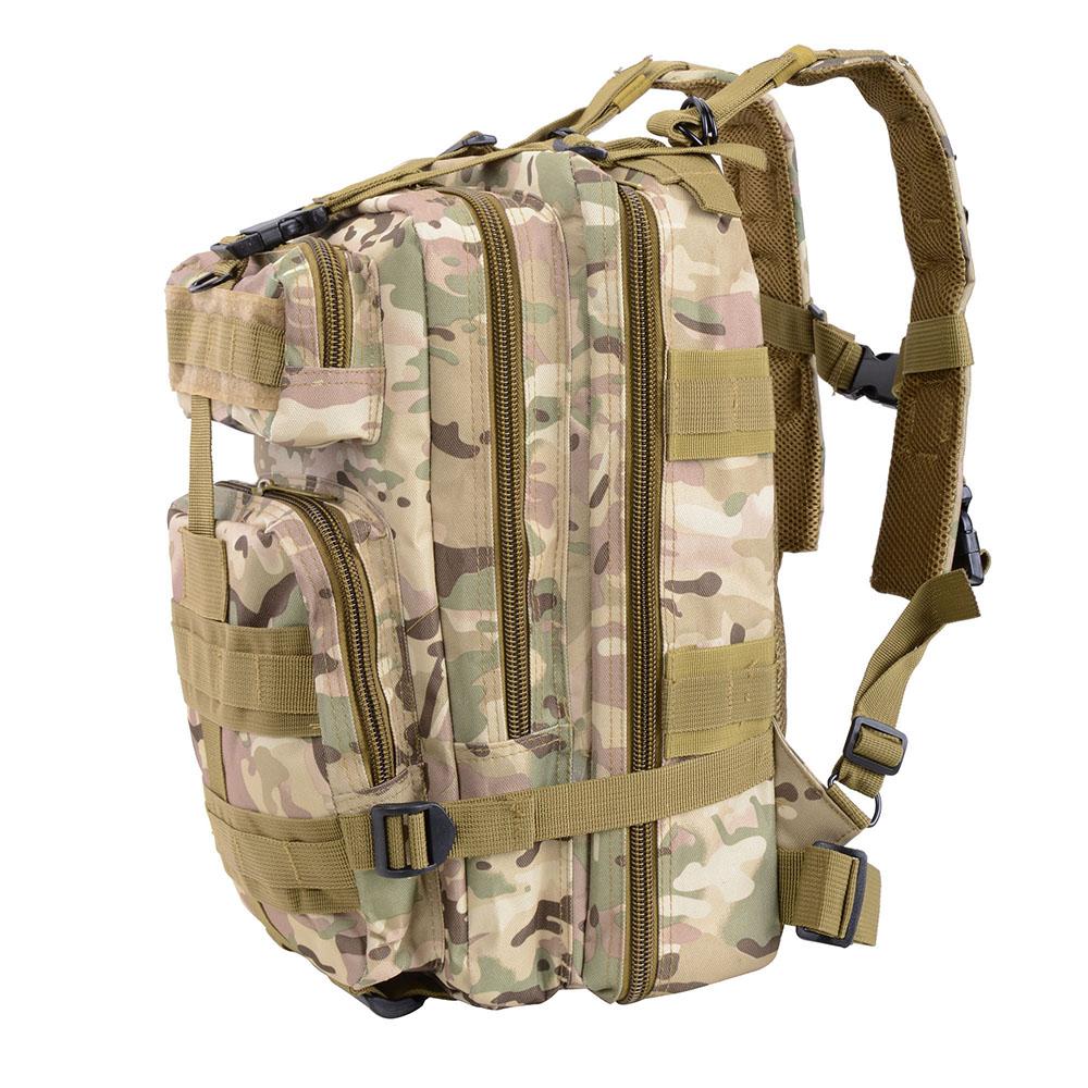 30L-Outdoor-Military-Rucksacks-Tactical-Backpack-Camping-Hiking-Trekking-Packbag thumbnail 26