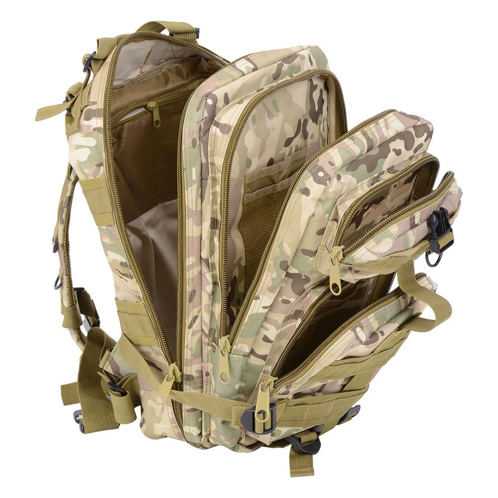 30L-Outdoor-Military-Rucksacks-Tactical-Backpack-Camping-Hiking-Trekking-Packbag thumbnail 28