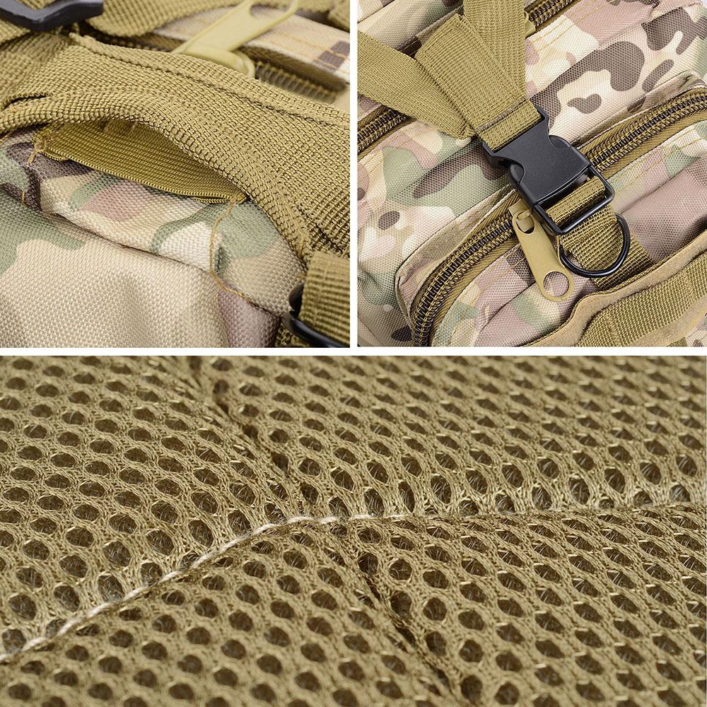 30L-Outdoor-Military-Rucksacks-Tactical-Backpack-Camping-Hiking-Trekking-Packbag thumbnail 29