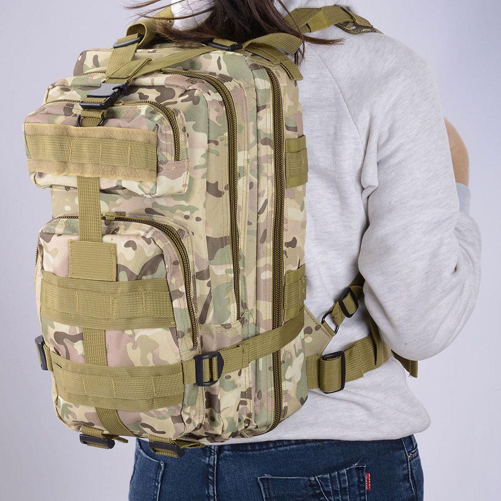 30L-Outdoor-Military-Rucksacks-Tactical-Backpack-Camping-Hiking-Trekking-Packbag thumbnail 30