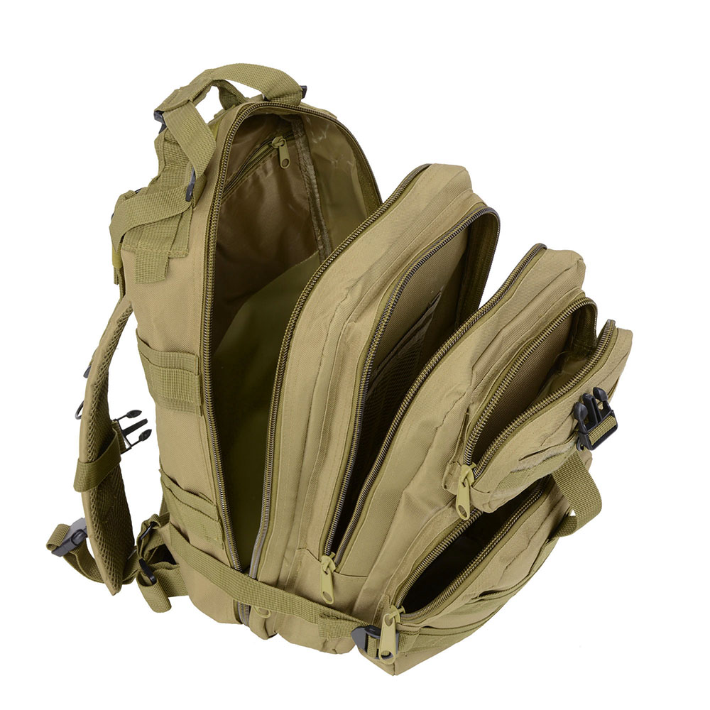 30L-Outdoor-Military-Rucksacks-Tactical-Backpack-Camping-Hiking-Trekking-Packbag thumbnail 35