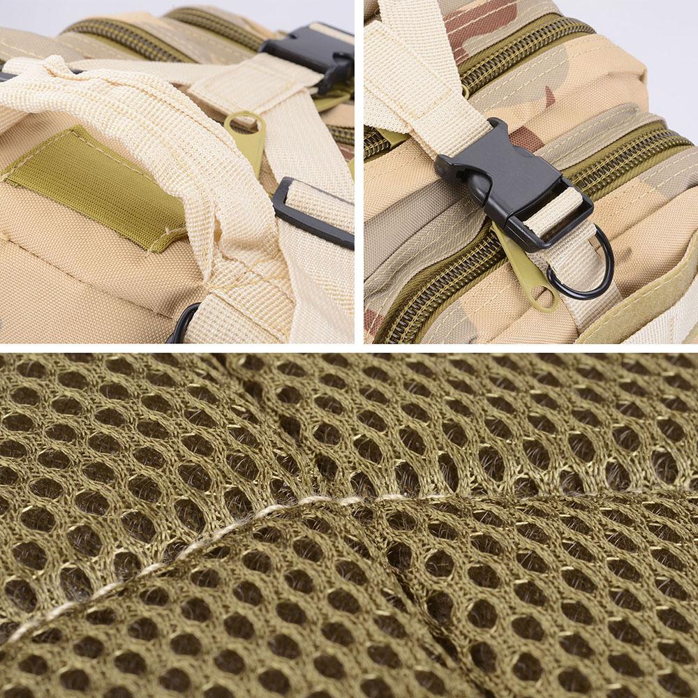 30L-Outdoor-Military-Rucksacks-Tactical-Backpack-Camping-Hiking-Trekking-Packbag thumbnail 43