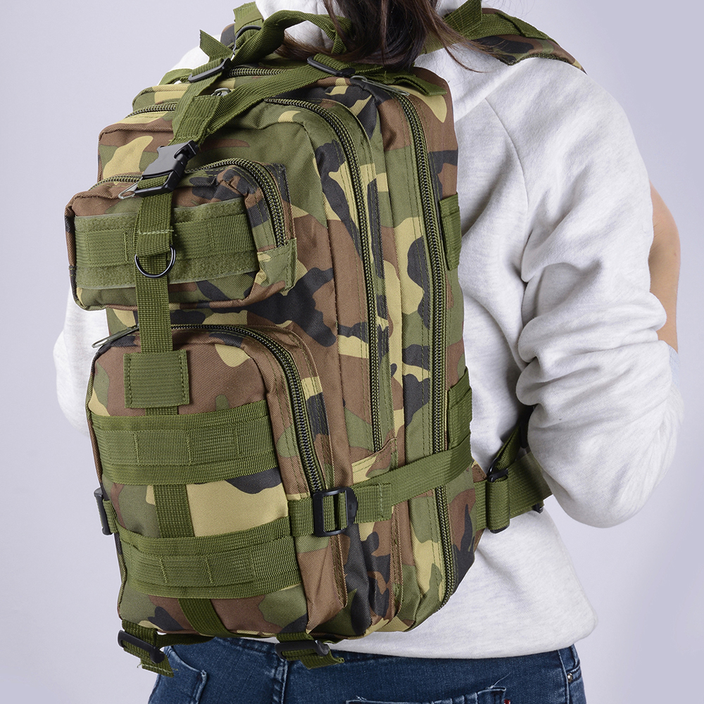 30L-Outdoor-Military-Rucksacks-Tactical-Backpack-Camping-Hiking-Trekking-Packbag thumbnail 51