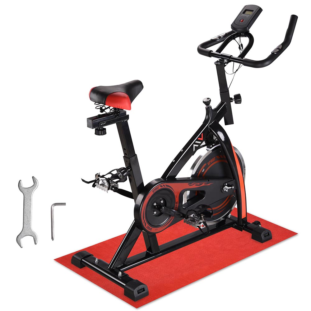 Exercise-Bike-Fitness-Gym-Indoor-Cycling-Stationary-Bicycle-Cardio-Workout-Home thumbnail 3