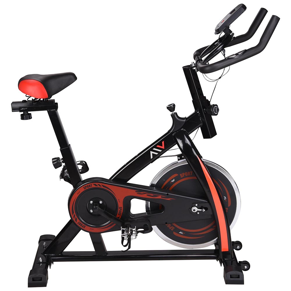 Exercise-Bike-Fitness-Gym-Indoor-Cycling-Stationary-Bicycle-Cardio-Workout-Home thumbnail 4
