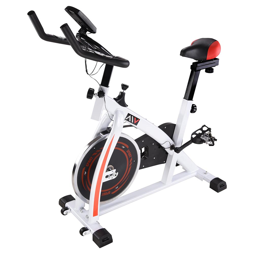 Exercise-Bike-Fitness-Gym-Indoor-Cycling-Stationary-Bicycle-Cardio-Workout-Home thumbnail 10