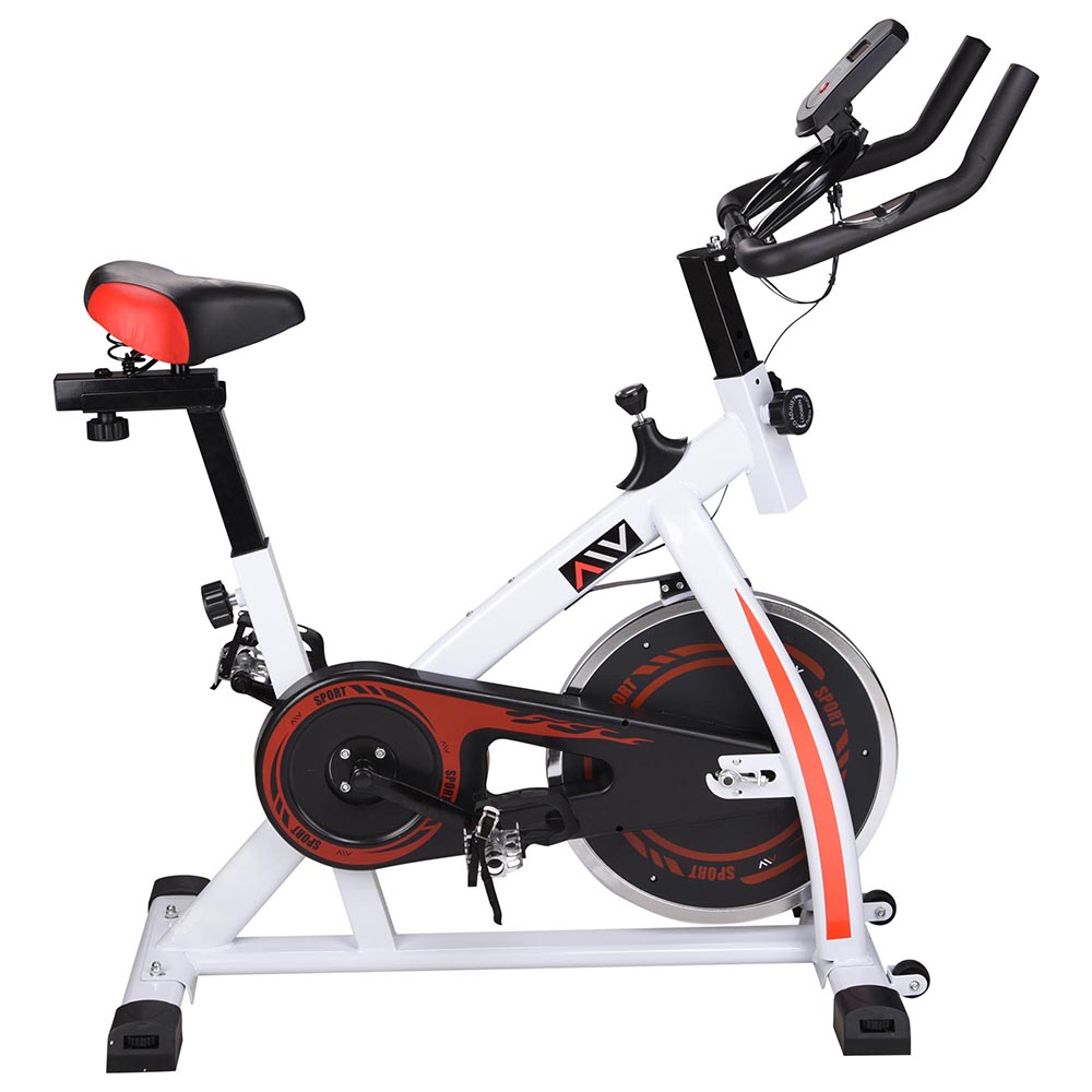 Exercise-Bike-Fitness-Gym-Indoor-Cycling-Stationary-Bicycle-Cardio-Workout-Home thumbnail 11