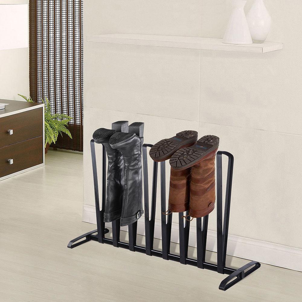 3-4-Pairs-Boot-Rack-Shoe-Storage-Organizer-Stand-Hanger-Shelf-Holder-Stand thumbnail 9