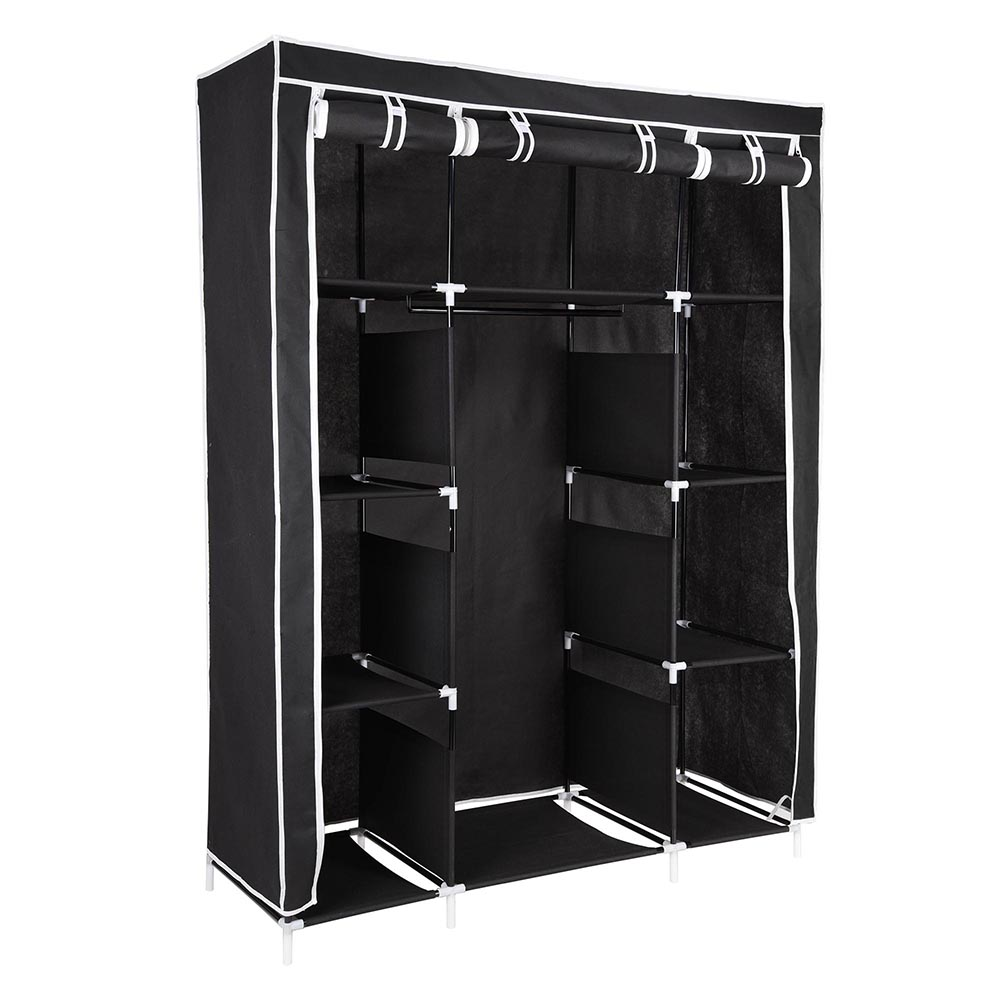 67 Quot Portable Closet Storage Colthes Shelves Fabric