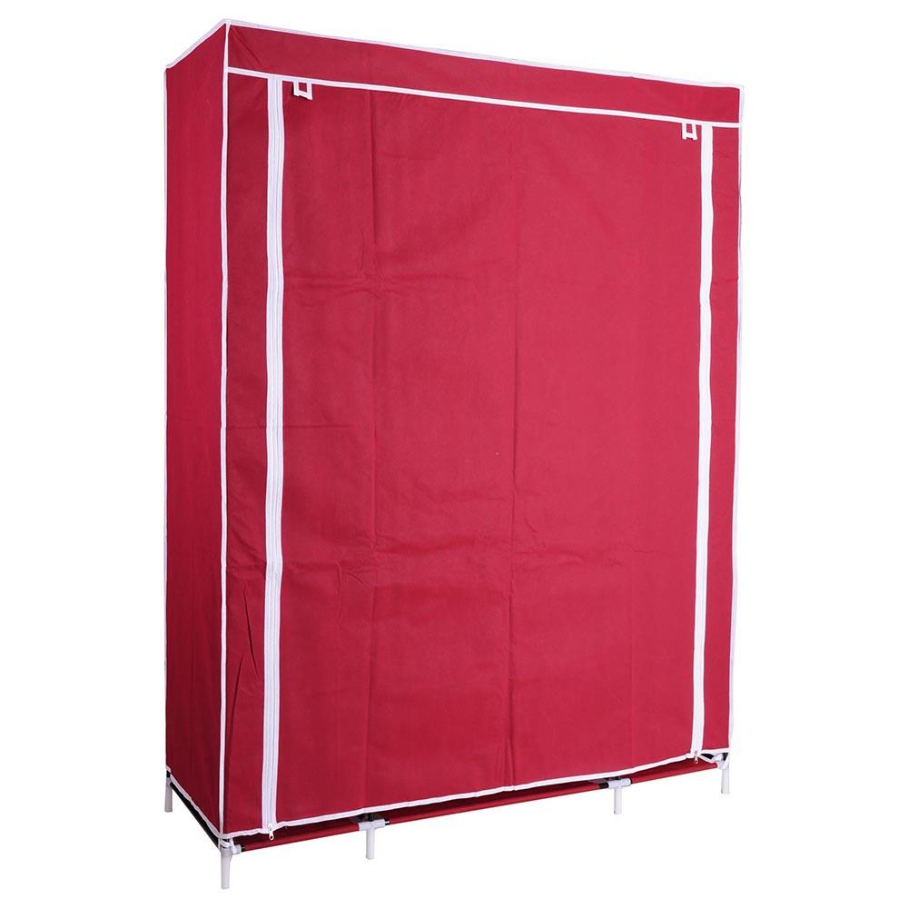 Product Portable Storage : Quot portable closet storage shelves colthes fabric