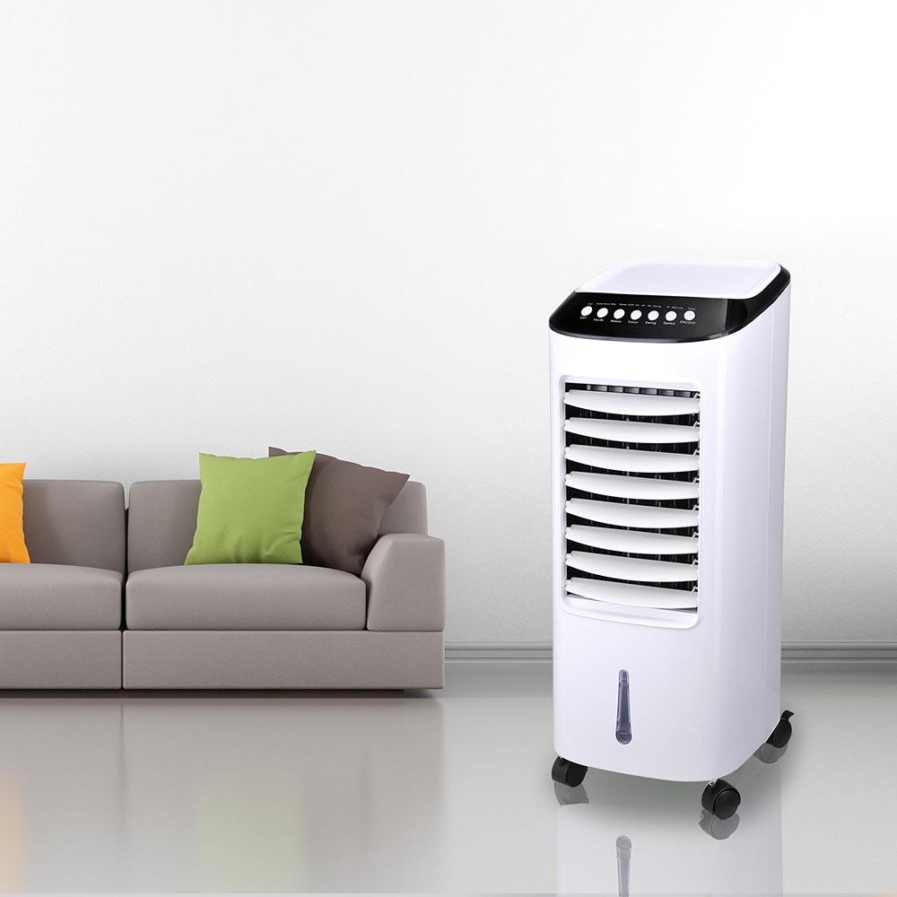 6L Tank Portable Evaporative Air Cooler Remote Control Fan Ionizer  Humidifier