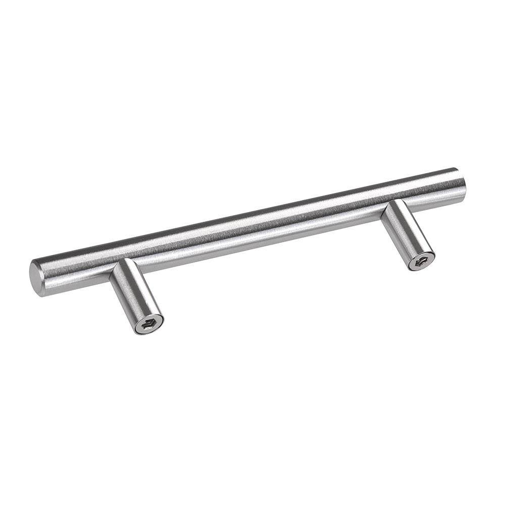 10x Stainless Steel T Bar Pull Handles Knob Door Kitchen