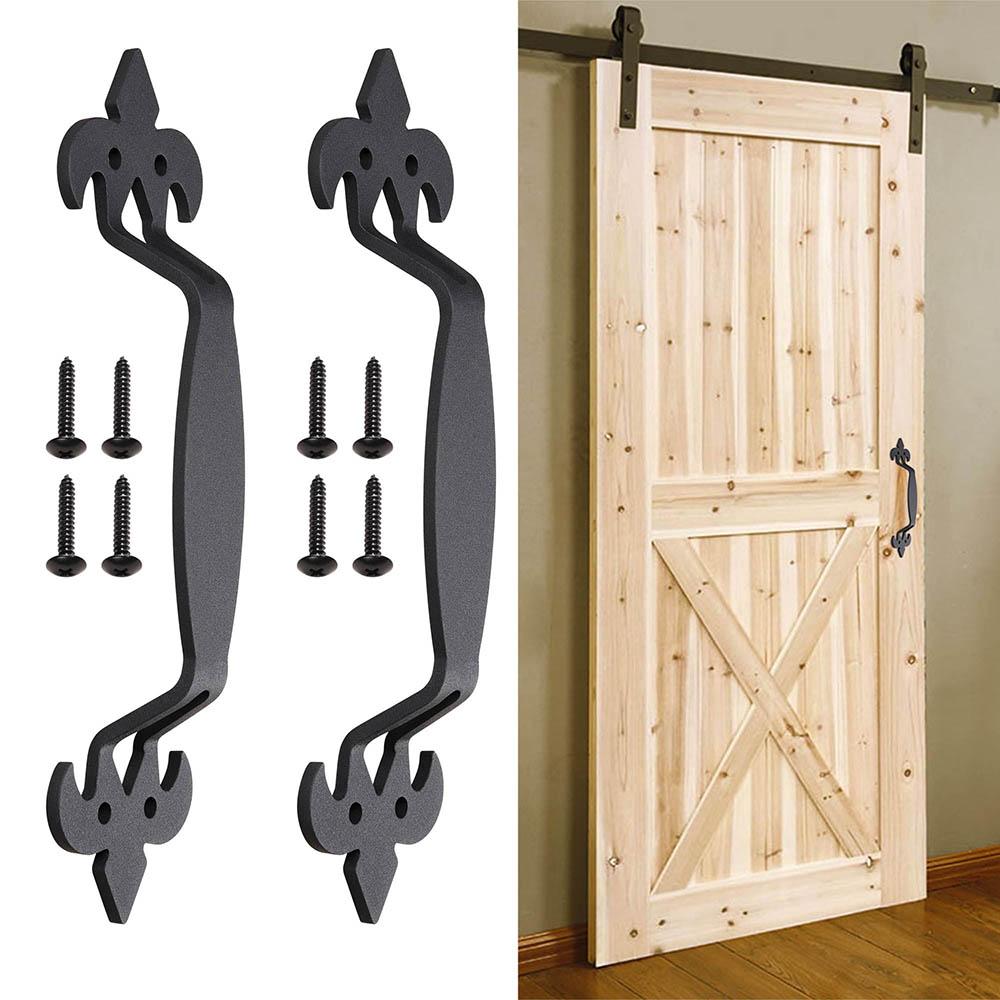 2x 11 Quot Sliding Barn Door Handle Vintage Cast Iron Pull