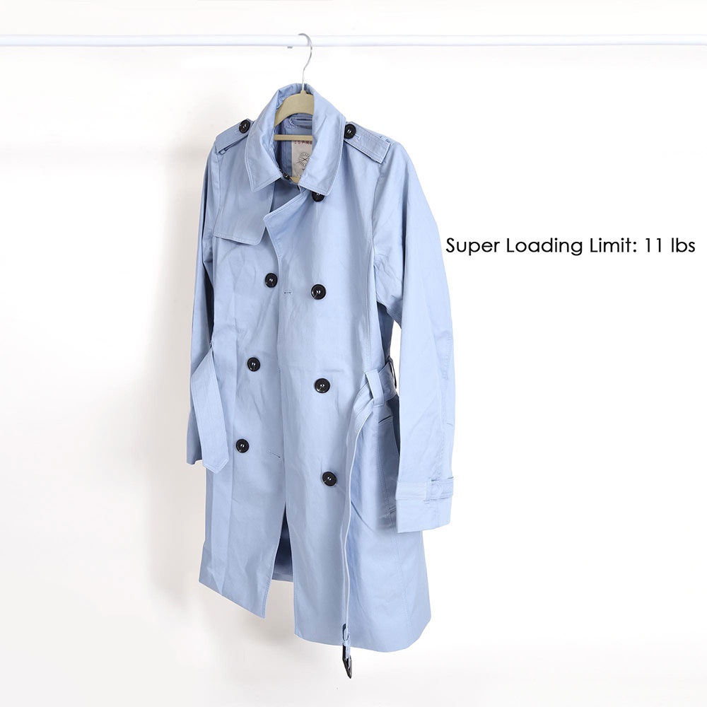 100-Velvet-Suit-Hanger-with-Tie-Bar-Non-Slip-4mm-Ultra-thin-Home-Clothes-Closet thumbnail 17