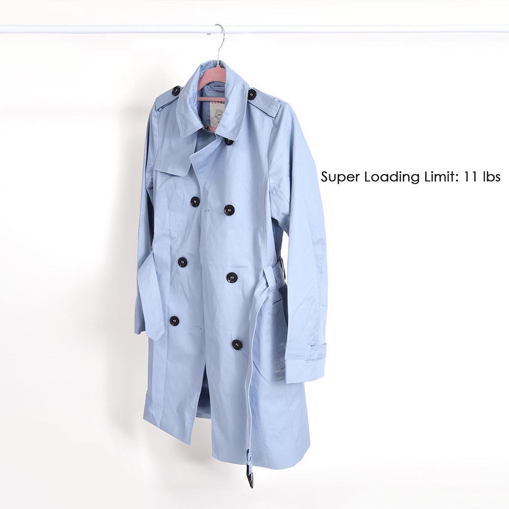 100-Velvet-Suit-Hanger-with-Tie-Bar-Non-Slip-4mm-Ultra-thin-Home-Clothes-Closet thumbnail 23