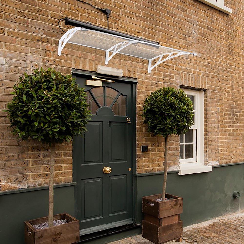 80 39 39 X40 39 39 Door Window Outdoor Awning Polycarbonate Patio