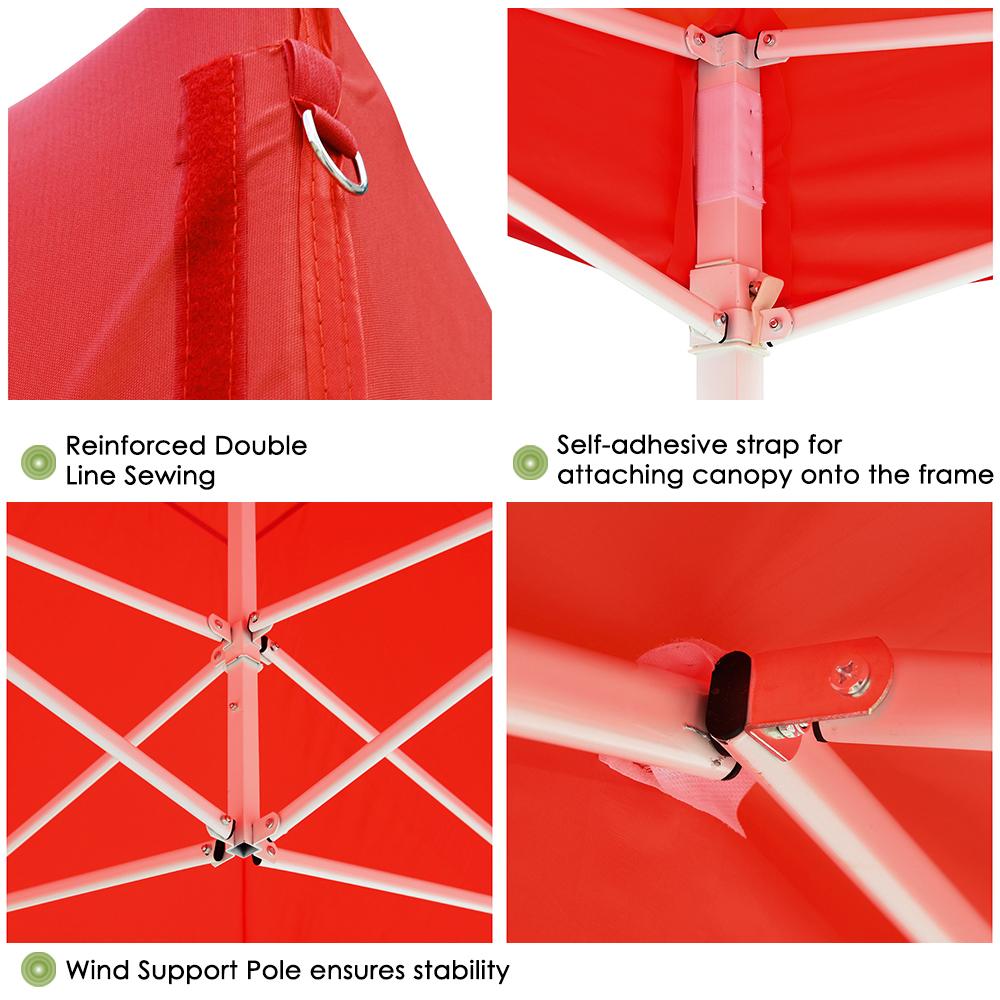 10x10-039-EZ-Pop-Up-Canopy-Tent-Patio-Outdoor-Instant-Gazebo-Folding-Shade-Party thumbnail 46