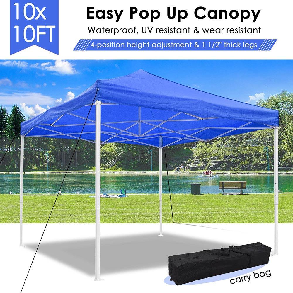 10x10-039-EZ-Pop-Up-Canopy-Tent-Patio-Outdoor-Instant-Gazebo-Folding-Shade-Party thumbnail 16