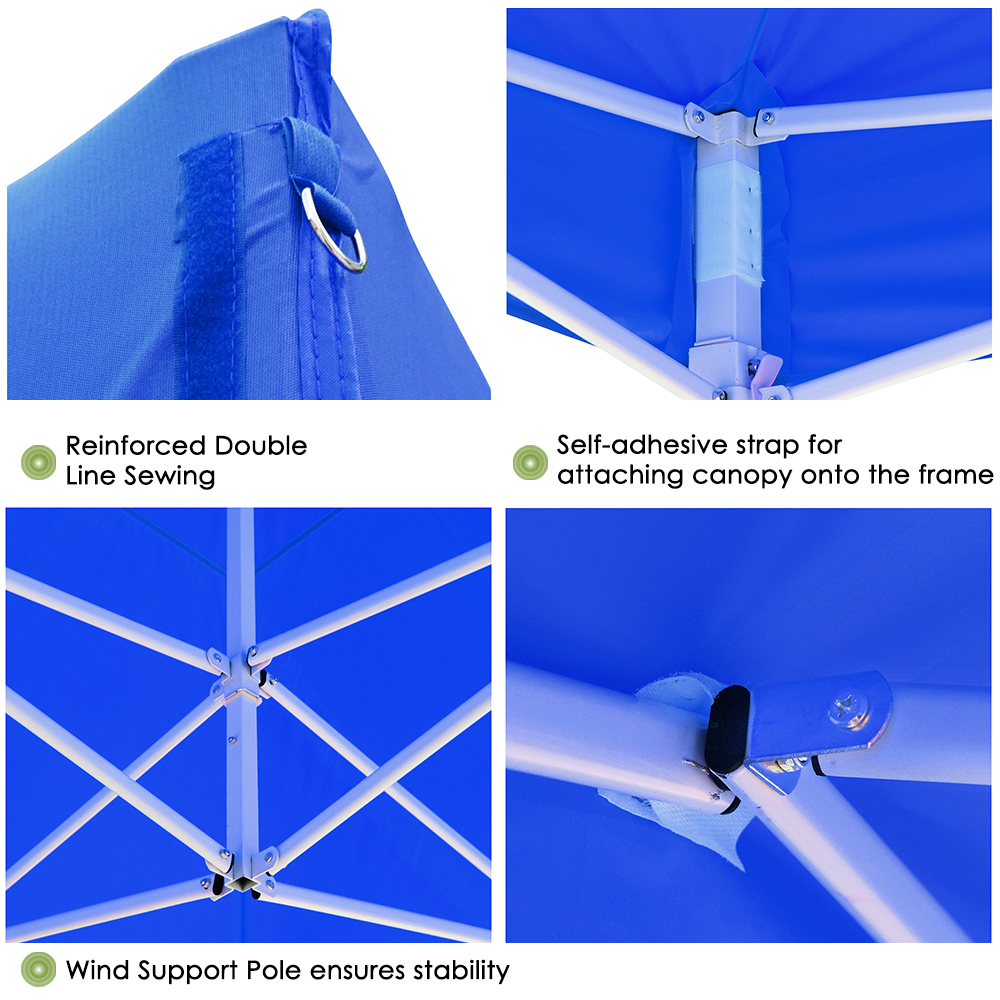 10x10-039-EZ-Pop-Up-Canopy-Tent-Patio-Outdoor-Instant-Gazebo-Folding-Shade-Party thumbnail 22