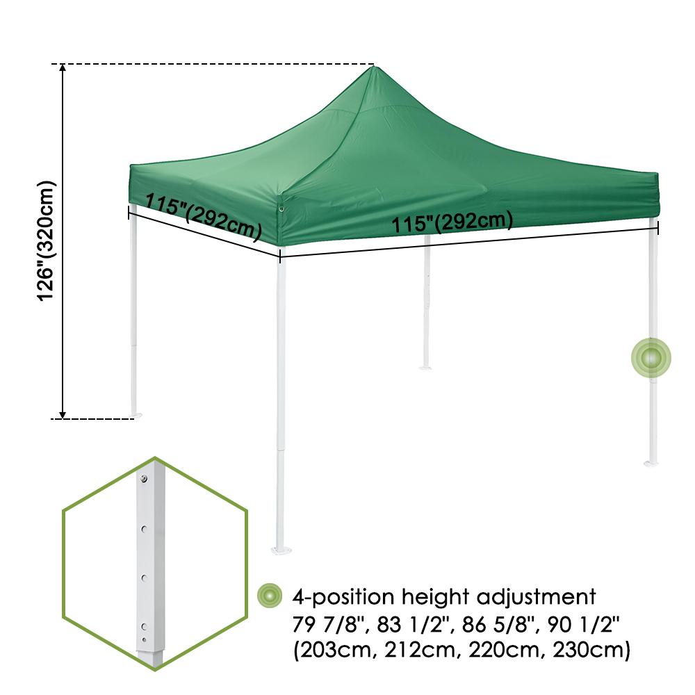 10x10-039-EZ-Pop-Up-Canopy-Tent-Patio-Outdoor-Instant-Gazebo-Folding-Shade-Party thumbnail 33