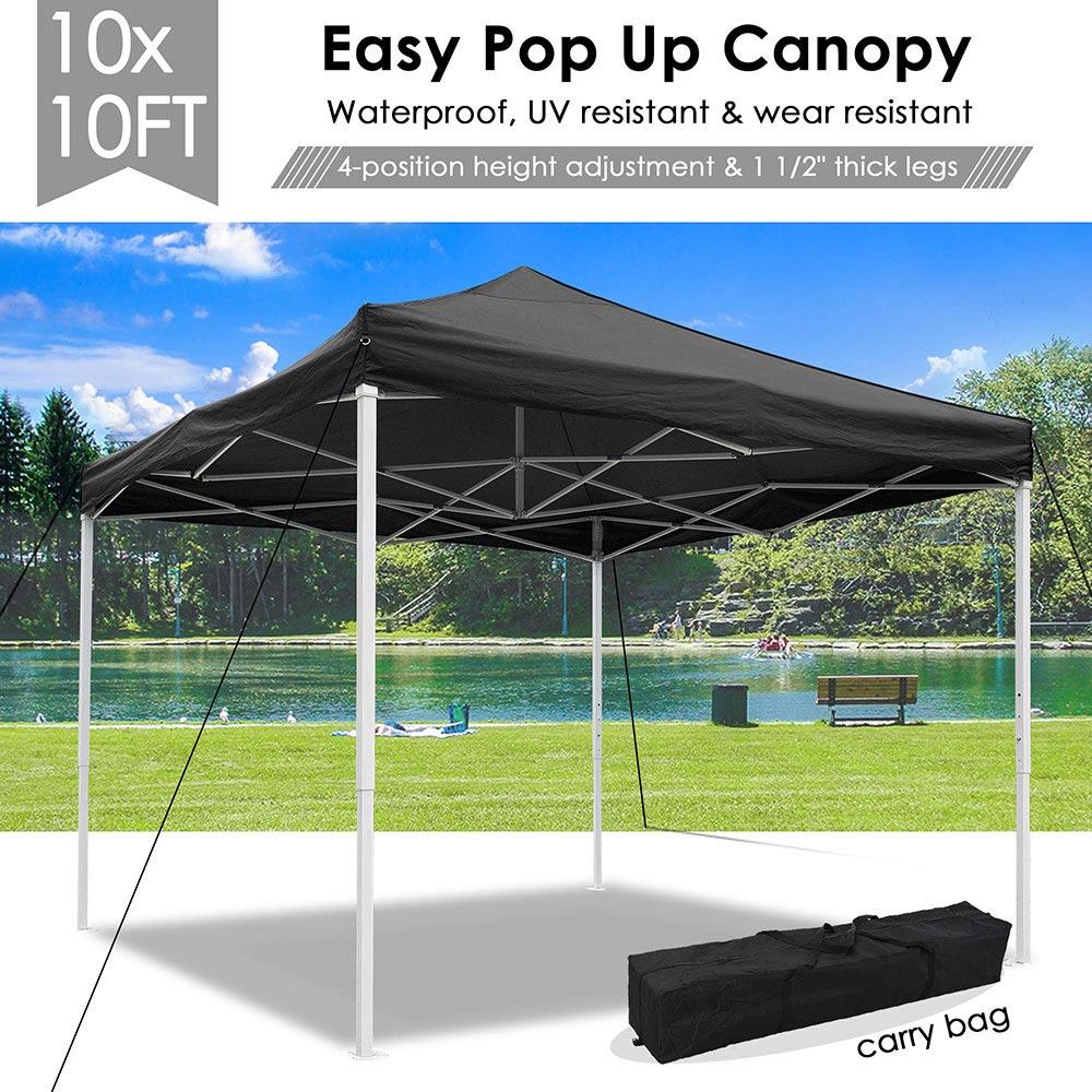 10x10-039-EZ-Pop-Up-Canopy-Tent-Patio-Outdoor-Instant-Gazebo-Folding-Shade-Party thumbnail 4