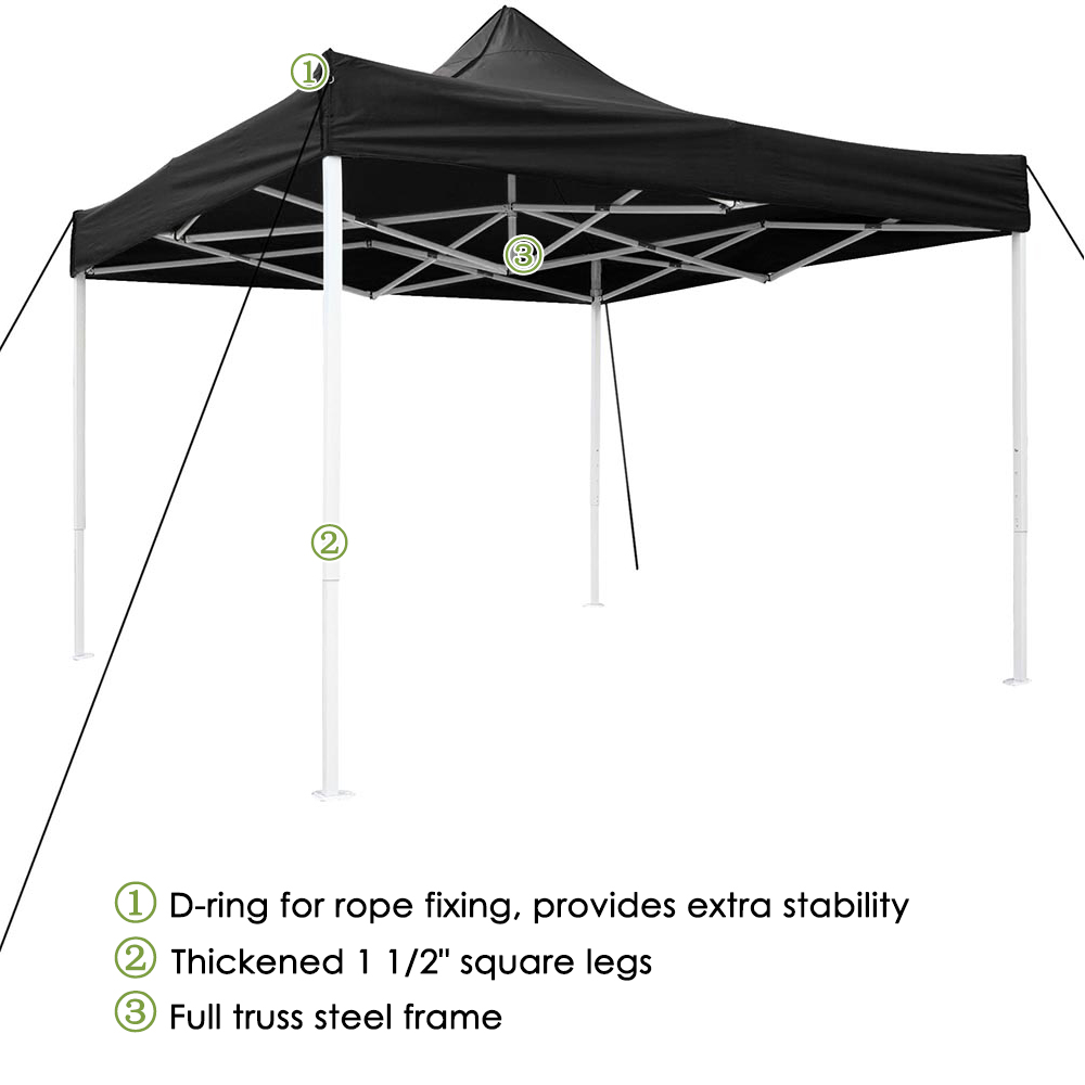10x10-039-EZ-Pop-Up-Canopy-Tent-Patio-Outdoor-Instant-Gazebo-Folding-Shade-Party thumbnail 7