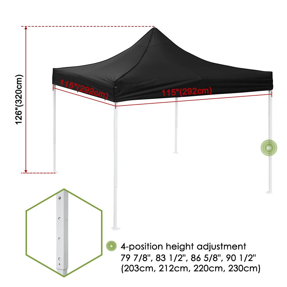 10x10-039-EZ-Pop-Up-Canopy-Tent-Patio-Outdoor-Instant-Gazebo-Folding-Shade-Party thumbnail 9