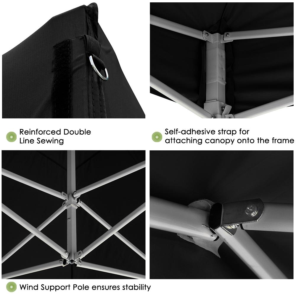 10x10-039-EZ-Pop-Up-Canopy-Tent-Patio-Outdoor-Instant-Gazebo-Folding-Shade-Party thumbnail 10