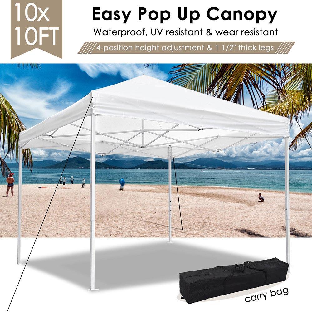 10x10-039-EZ-Pop-Up-Canopy-Tent-Patio-Outdoor-Instant-Gazebo-Folding-Shade-Party thumbnail 52