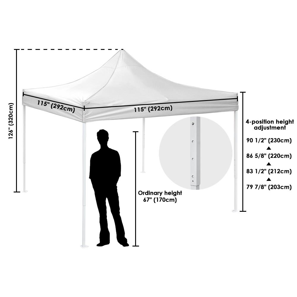 10x10-039-EZ-Pop-Up-Canopy-Tent-Patio-Outdoor-Instant-Gazebo-Folding-Shade-Party thumbnail 57