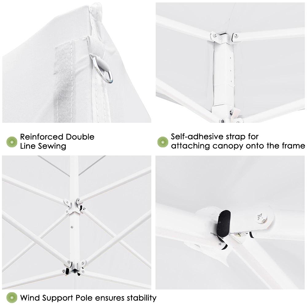 10x10-039-EZ-Pop-Up-Canopy-Tent-Patio-Outdoor-Instant-Gazebo-Folding-Shade-Party thumbnail 58