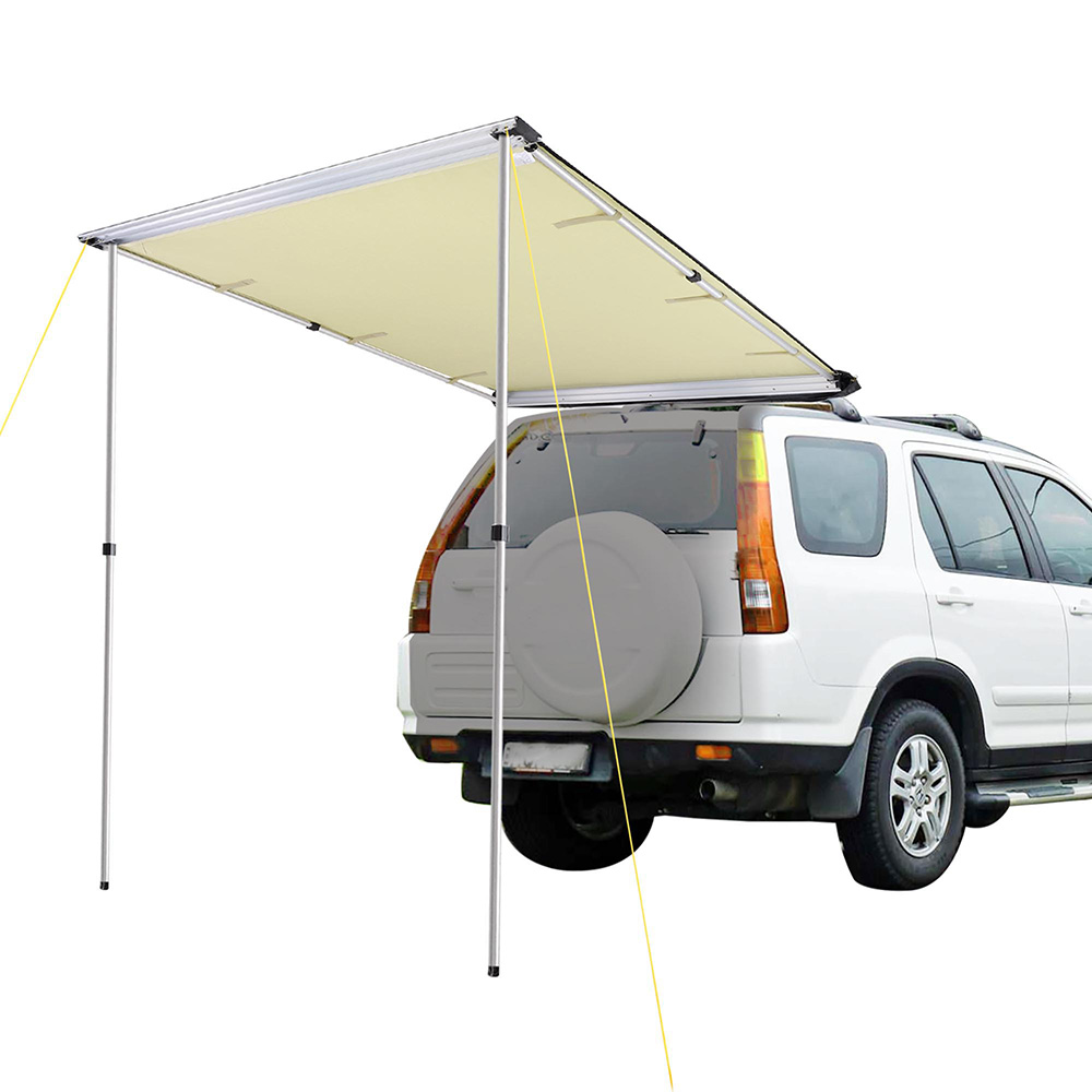 4.6x6.6' Car Side Awning Rooftop Tent Sun Shade SUV ...