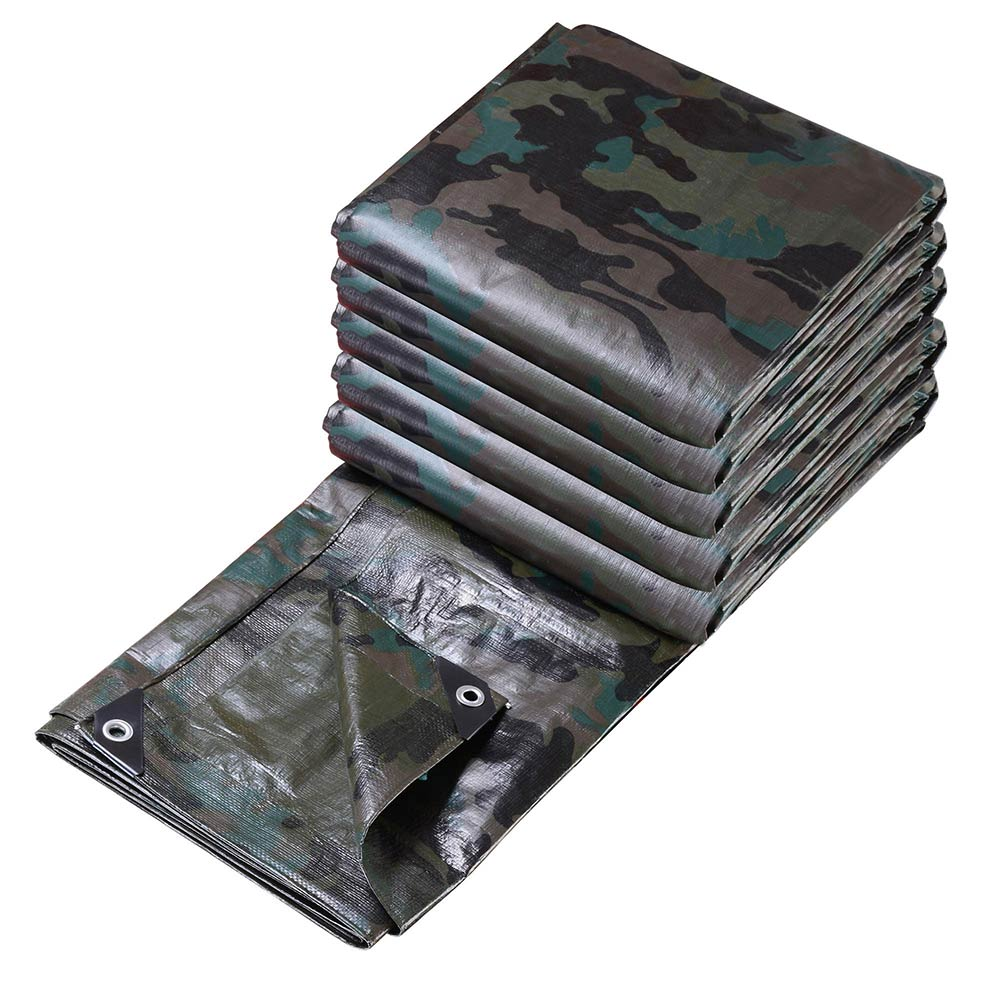 Heavy-Duty-Poly-Tarp-7mil-Waterproof-Tarpaulin-Canopy-Tent-Reinforced-Cover thumbnail 109