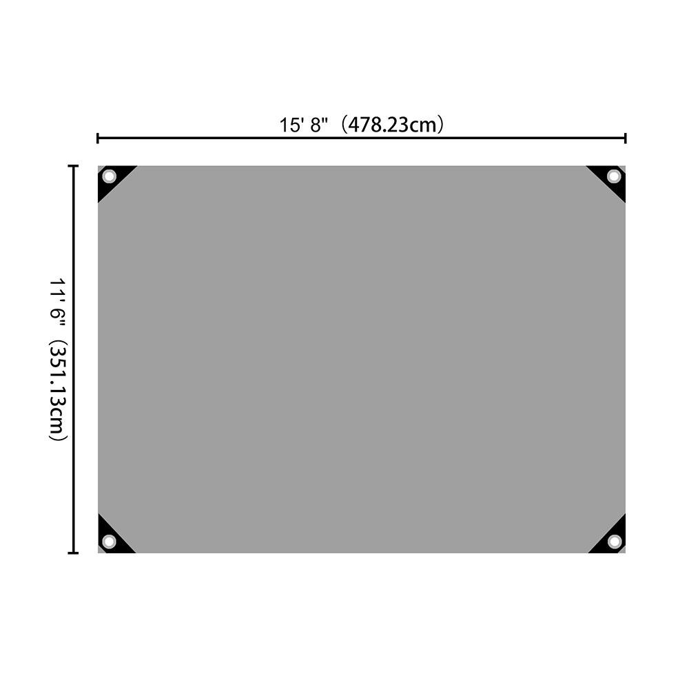 Heavy-Duty-Poly-Tarp-11mil-Waterproof-Tarpaulin-Reinforced-CoverCanopy-Tent-UV thumbnail 7