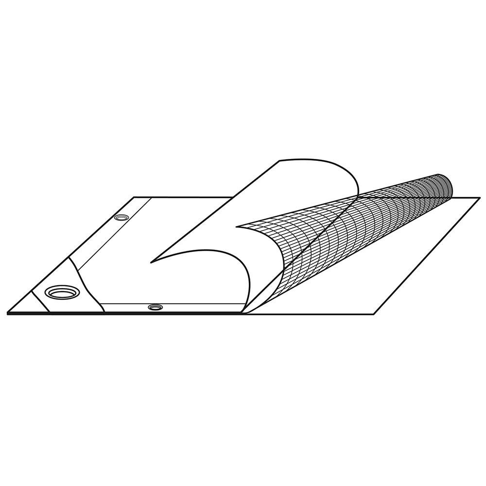 Heavy-Duty-Poly-Tarp-11mil-Waterproof-Tarpaulin-Reinforced-CoverCanopy-Tent-UV thumbnail 6