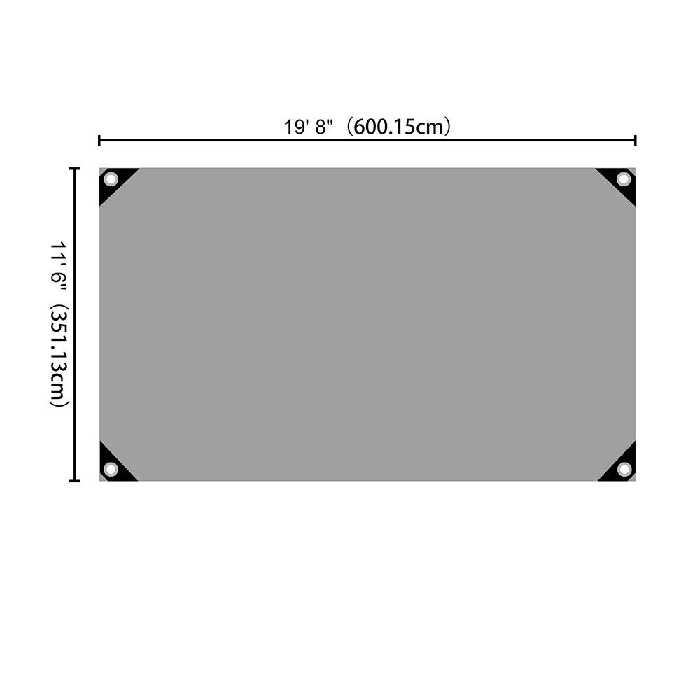 Heavy-Duty-Poly-Tarp-11mil-Waterproof-Tarpaulin-Reinforced-CoverCanopy-Tent-UV thumbnail 17
