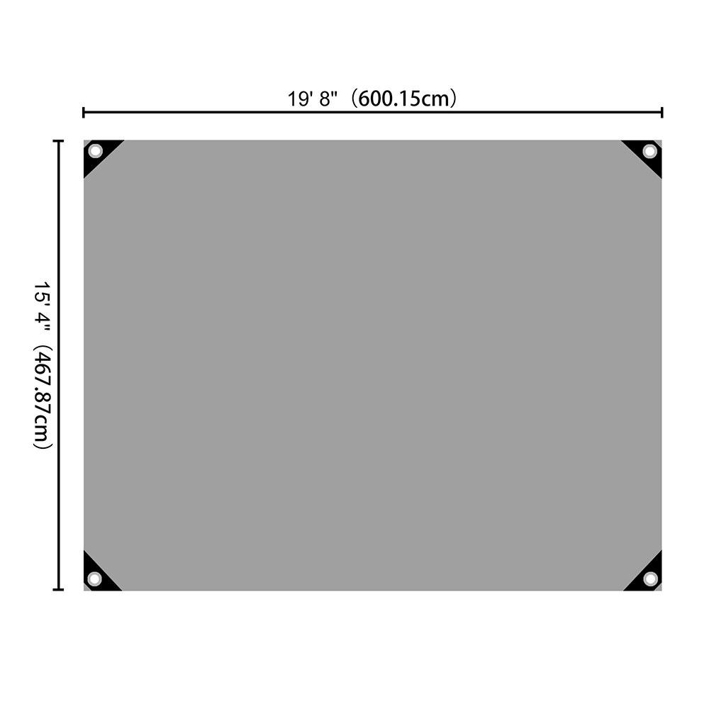 Heavy-Duty-Poly-Tarp-11mil-Waterproof-Tarpaulin-Reinforced-CoverCanopy-Tent-UV thumbnail 37