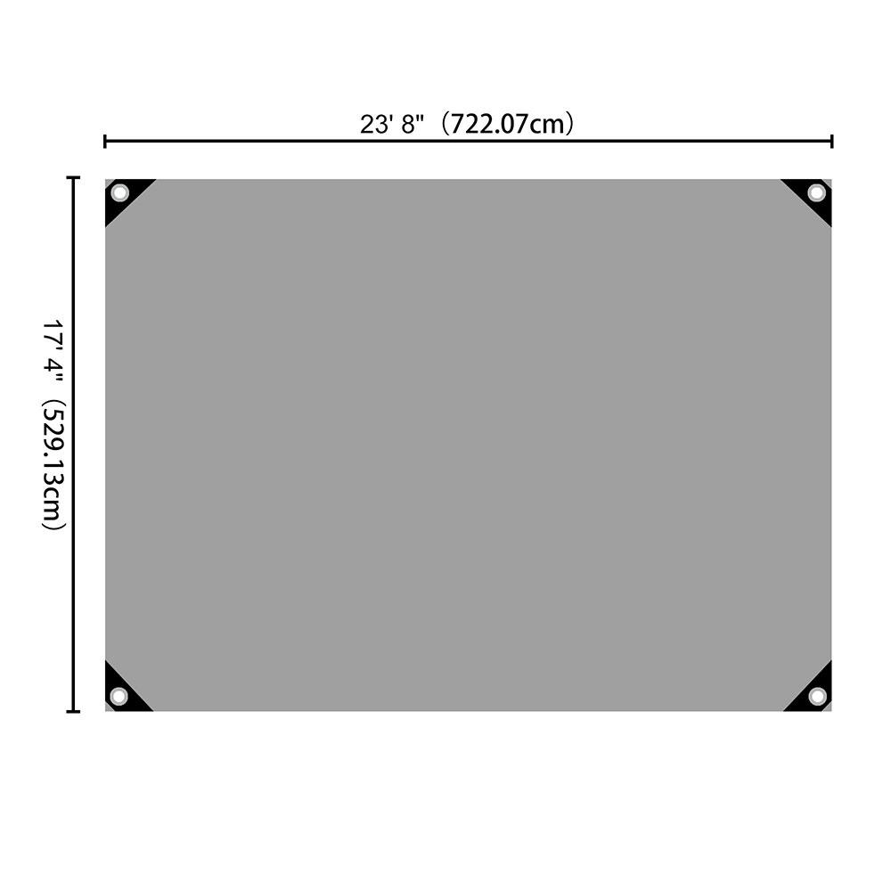 Heavy-Duty-Poly-Tarp-11mil-Waterproof-Tarpaulin-Reinforced-CoverCanopy-Tent-UV thumbnail 47